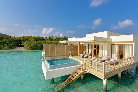 Over Water Villa - Dhigali Maldives