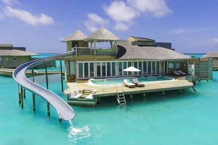 Water Villa with slide - Soneva Jani - Maldives