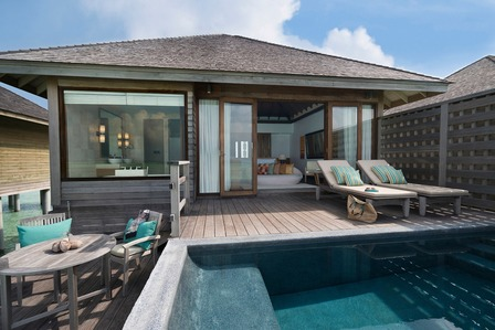 Beach Suite With Pool - Dhigali Maldives